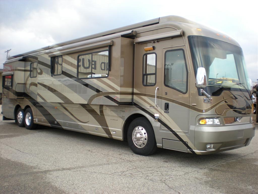 Basic Checks When You Are Buying A Used Class A Motor Home